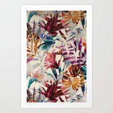 Tulip pattern Art Print
