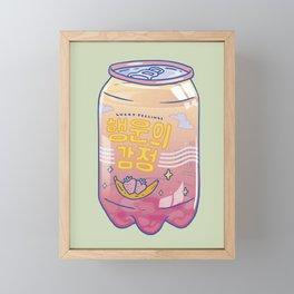 Lucky Feelings Framed Mini Art Print