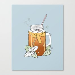 sweet tea Canvas Print