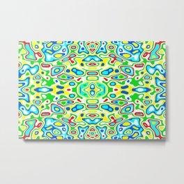 Symmetric composition 12 Metal Print