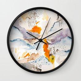 marmalade mountains Wall Clock