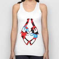 guns Tank Tops featuring Kong Guns by launa