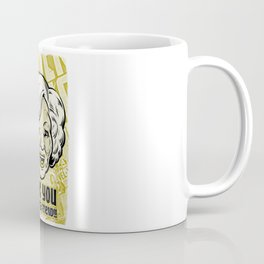 Thank You For Being a Friend - Rose Coffee Mug
