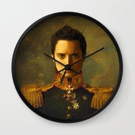 Elijah Wood - replaceface Wall Clock