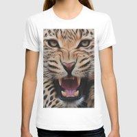 leopard T-shirts featuring Leopard   by Brian Raggatt