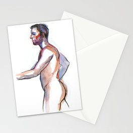 MATT, Nude Male by Frank-Joseph Stationery Cards
