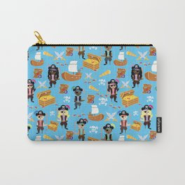 Ahoy Matey! Kids Pirate Treasure Hunt Carry-All Pouch
