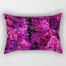 flwers in lilla Rectangular Pillow