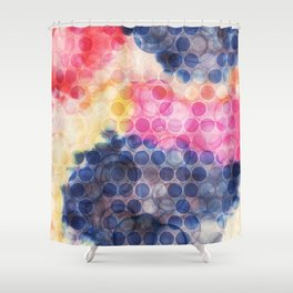 EACH MOMENT IS THE UNIVERSE Shower Curtain