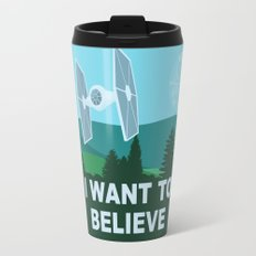 I WANT TO BELIEVE - Star Wars Travel Mug