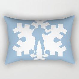 Iceman Rectangular Pillow
