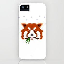 Rascal Red Panda iPhone Case
