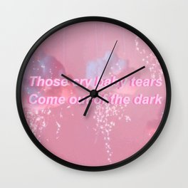 Crybaby Wall Clock
