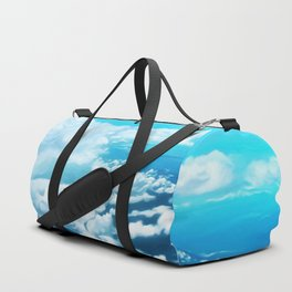Above the world Duffle Bag