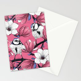 Spring time in pink Stationery Cards