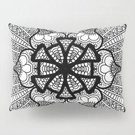 Zentangle 12 Pillow Sham