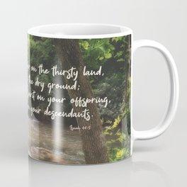 Isaiah 44 3 #bibleverse #scripture Coffee Mug