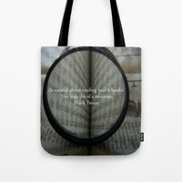 health Tote Bags featuring Good Health by Veronica Ventress