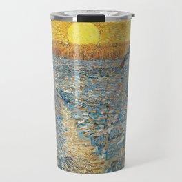 Van Gogh : The Sower (Sower with Setting Sun) Travel Mug