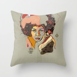 Minnie Riperton - Soul Sister | Soul Brother Throw Pillow