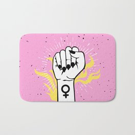 The Cards Say Smash the Patriarchy Bath Mat