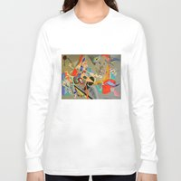 kandinsky Long Sleeve T-shirts featuring Kandinsky Composition Study by Andrew Sherman