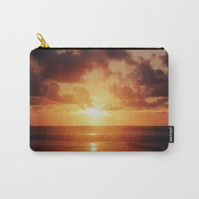 Sunrise over the Ocean Carry-All Pouch