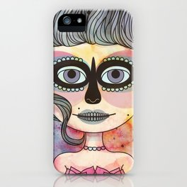 Catrina iPhone Case