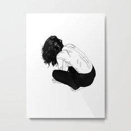 yumi Metal Print