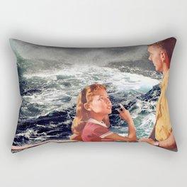 Floating door Rectangular Pillow