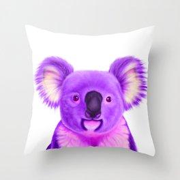 Wayne the Koala Throw Pillow