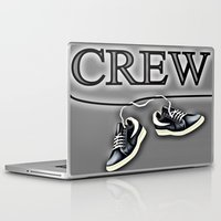 animal crew Laptop & iPad Skins featuring Crew by Cs025