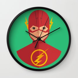 flat for flash Wall Clock