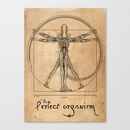 Perfect Organism Canvas Print