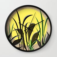 serenity Wall Clocks featuring Serenity by Judith Lee Folde Photography & Art