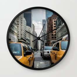 New York Taxi Wall Clock