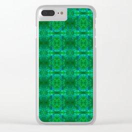 zakiaz heart chakra Clear iPhone Case
