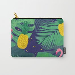 Flamingoes in the Starlight Carry-All Pouch