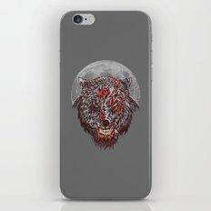 Zombie Wolf iPhone & iPod Skin