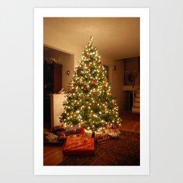 Christmas Tree - True Art Print