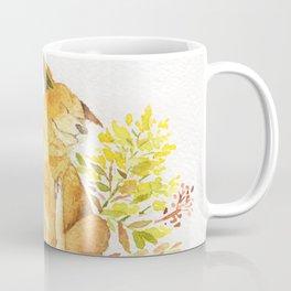 Watercolor Taiwan Dog -Yellow Coffee Mug
