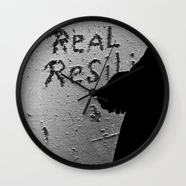 Real Resili (Food) Wall Clock