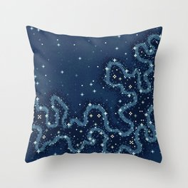 Marianas Trench Galaxy Throw Pillow