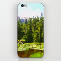 forrest iPhone & iPod Skins featuring Forest Green by IvanaW