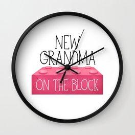 New Grandma On The Block Wall Clock