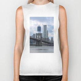 Freedom Tower Brooklyn Bridge 2012 Biker Tank