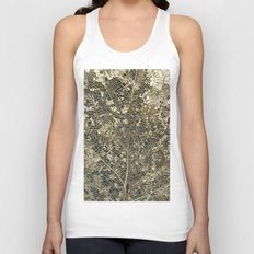 Old gold Unisex Tank Top