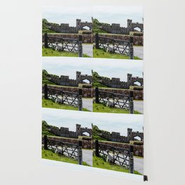 Castle & Sheep Wallpaper