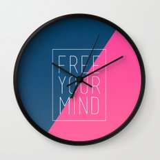 Free Your Mind III Wall Clock