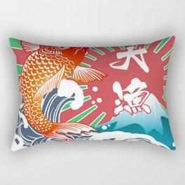 fishing flag Rectangular Pillow